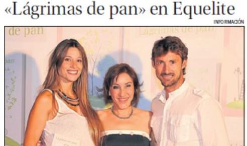 """""""Lágrimas de pan"""" en el Periódico Información de Alicante"""