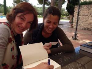 Con Ana López