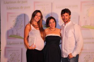 Con Juan Carlos Ferrero y su novia Eva el día de la presentación del libro