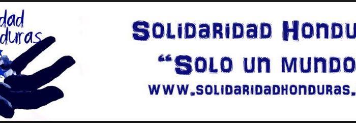 En diciembre apoyamos a la ONGD «Solidaridad Honduras. Sólo un Mundo»