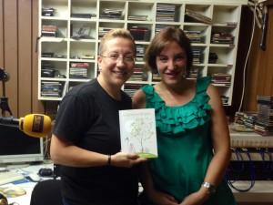 con Mónika Rendón en Radio Villena Cadena SER